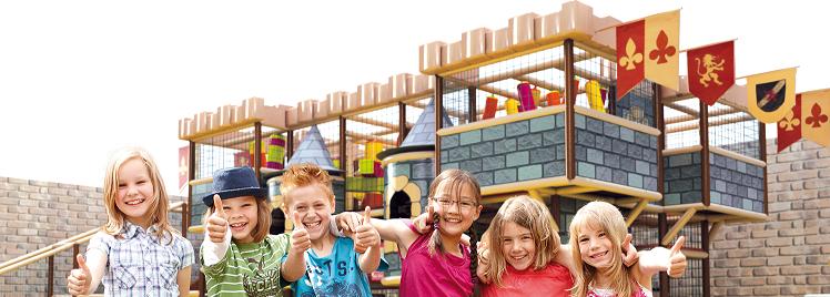 Parc de jeux pour enfants dans les Alpes de Haute Provence
